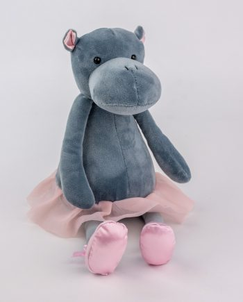 Ballerina Hippo teddy