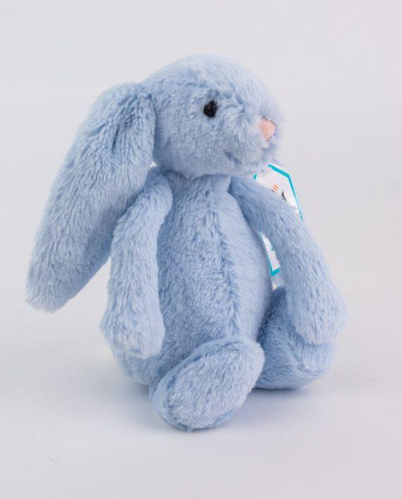 Jellycat Bashful Blue Bunny Rattle - Send a Cuddly