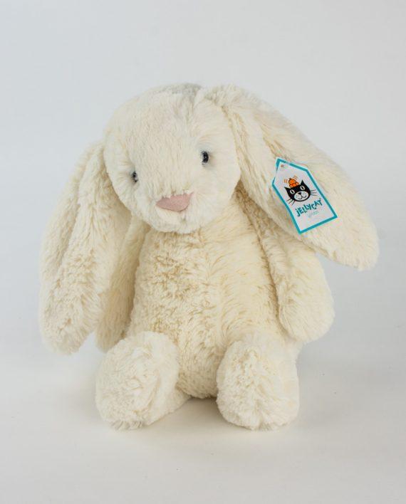 Jellycat Cream Bashful Bunny - Send a Cuddly