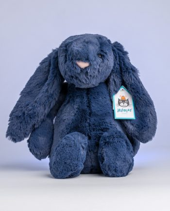 Jellycat Bashful Navy Bunny - Send a Cuddly