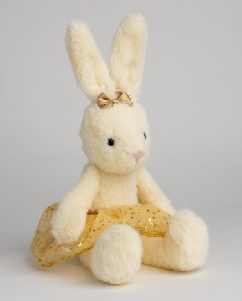 Jellycat Small Golden Belle Bunny - Send a Cuddly