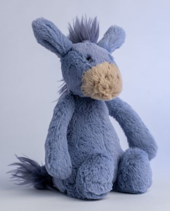 Jellycat Bashful Donkey soft toy - Send a Cuddly