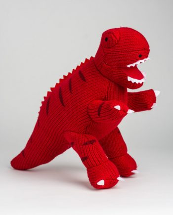 T.rex knitted toy