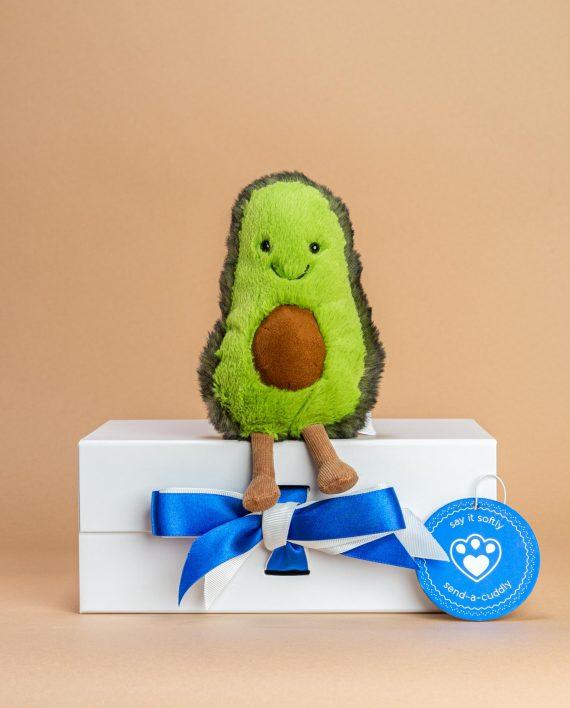 Avocado soft toy gift - Send a Cuddly