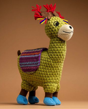 Knitted Llama Soft Toy Gift - Send a Cuddly