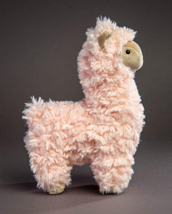 Steiff Luciana Llama Pink Soft Toy - Send a Cuddly