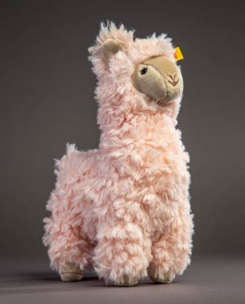 Steiff Luciana Llama Pink Soft Toy - Send a Cuddly