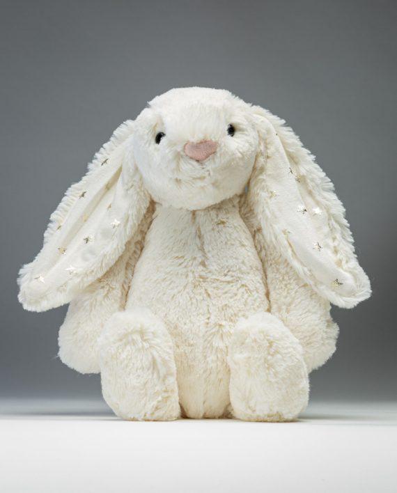 Jellycat Bashful Twinkle Bunny Soft Toy - Send a Cuddly