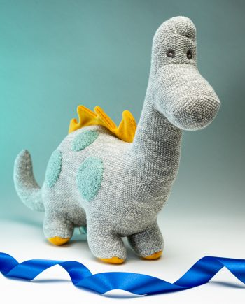Knitted Organic Cotton Diplo - Send a Cuddly