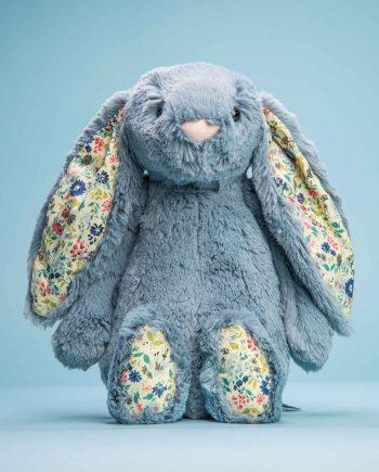 Blossom Dusky Blue Bunny - Send a Cuddly