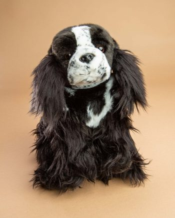 Blue Roan Cocker Spaniel Dog Soft Toy Gift - Send a Cuddly