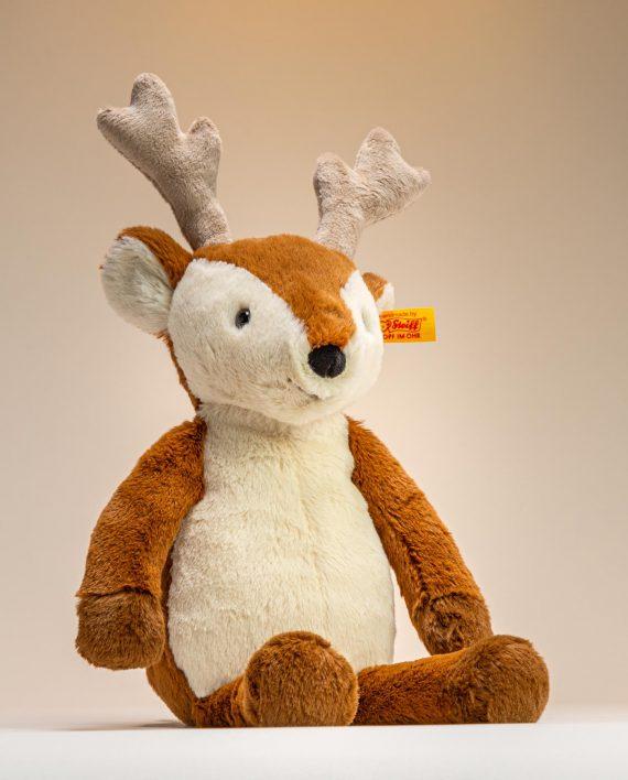 Steiff Nino Deer Soft Toy Gift - Send a Cuddly