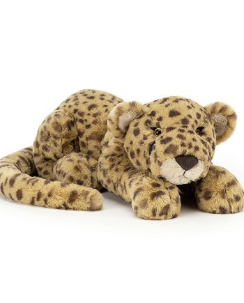 Charlie Cheetah soft toy