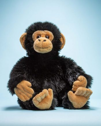 Chimp soft toy