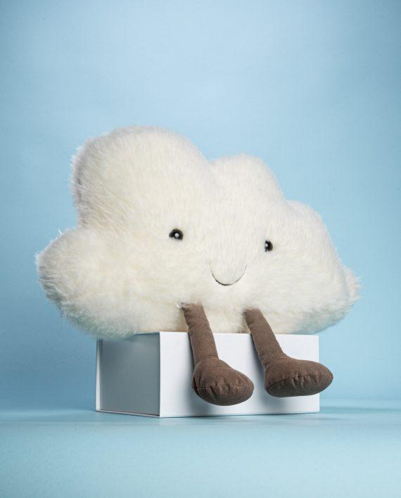 Fluffy cloud soft toy gift - Send a Cuddly