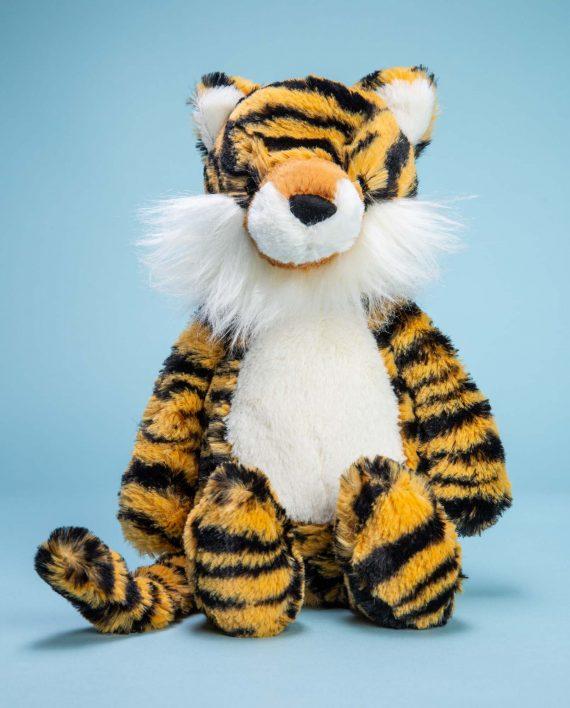Tiger cuddly soft toy gift