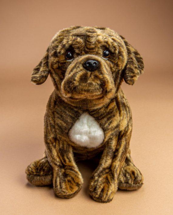 Brindle Boxer Dog Soft Toy - Send a Cuddly