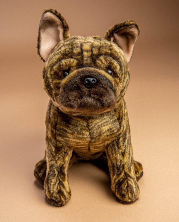 Brindle French Bulldog soft toy gift - Send a Cuddly