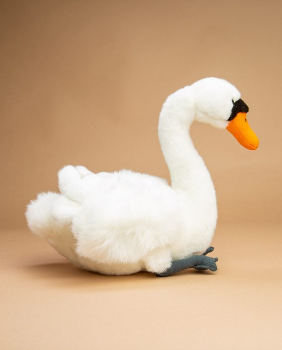 Swan soft toy gift - Send a Cuddly