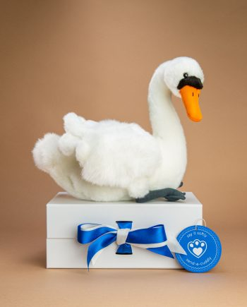 Swan soft toy gift - Send a Cuddly