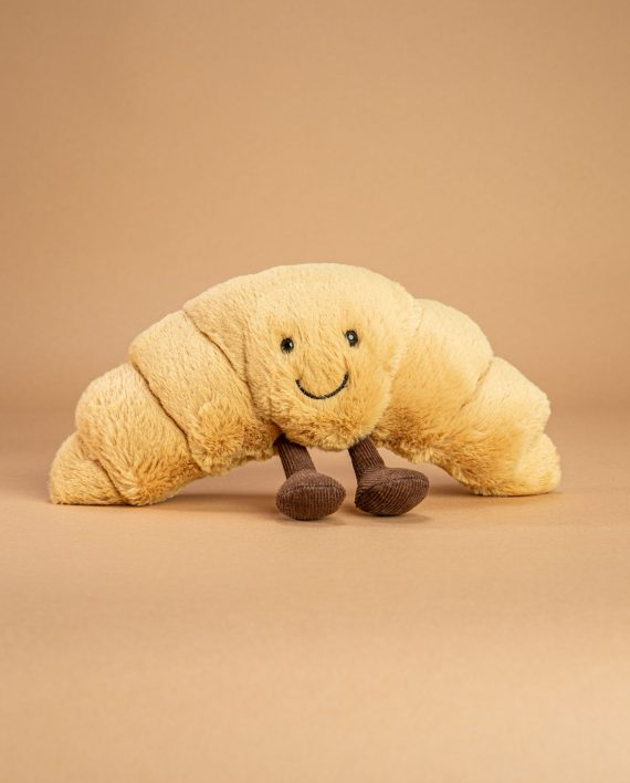 croissant soft toy send a cuddly