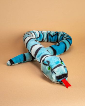 Blue and White Snake
