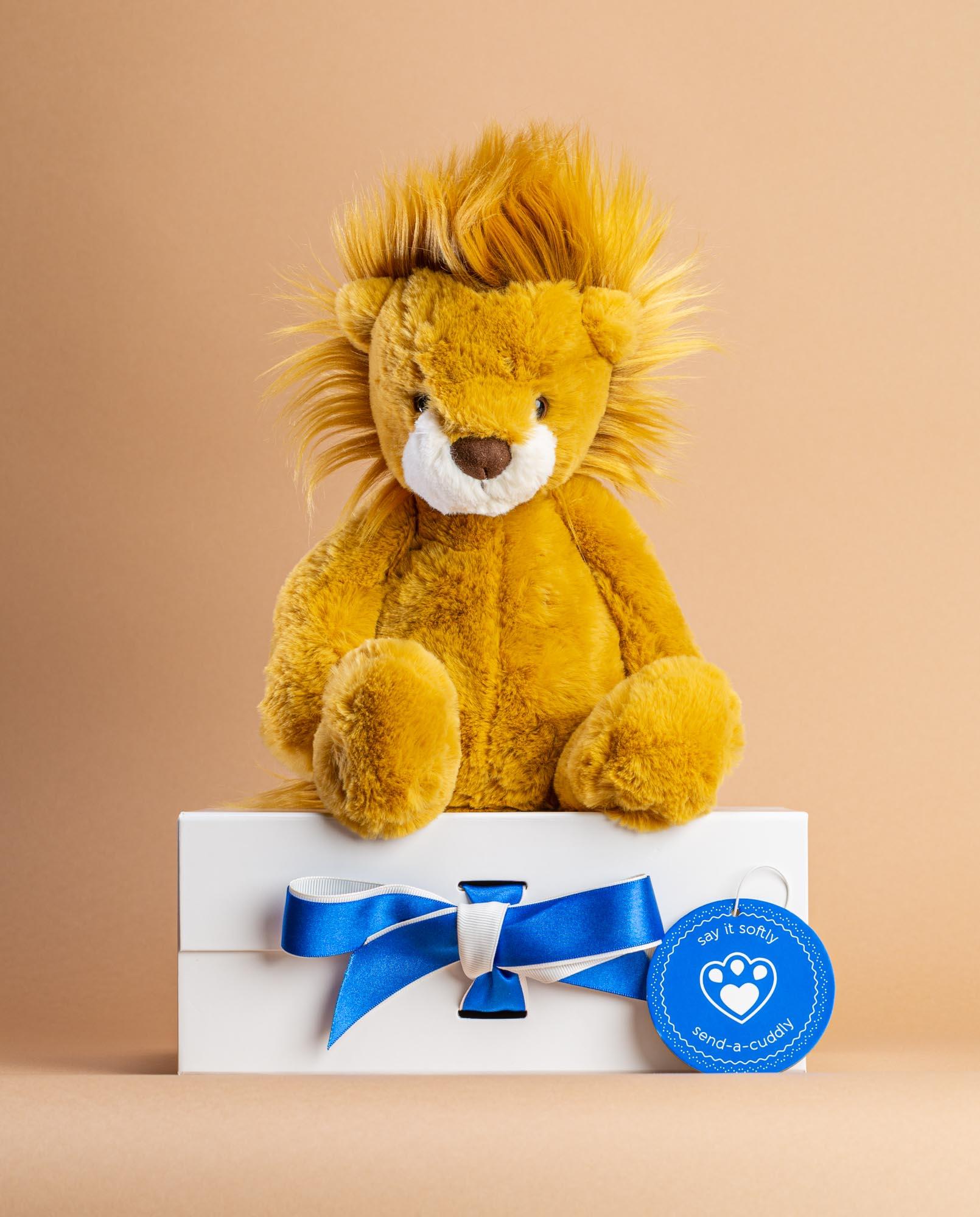Wumper Lion Soft Toy - Send a Cuddly