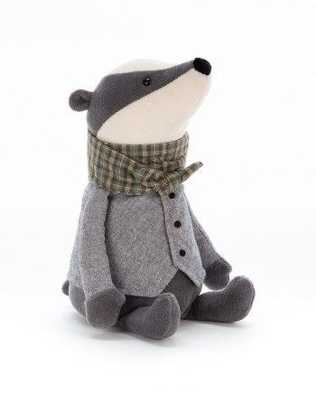 Jellycat Badger toy - send