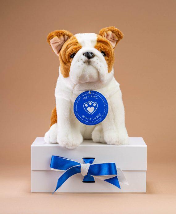 British Bulldog soft toy