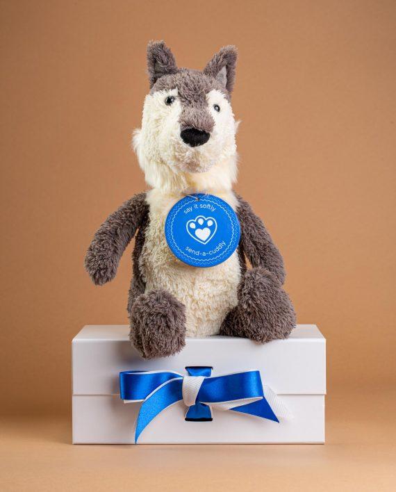 Jellycat Woodruff Wolf - Send A Cuddly