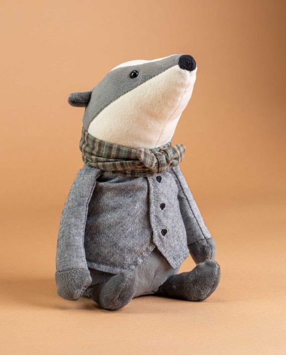Jellycat Riverside Rambler Badger - Send A Cuddly